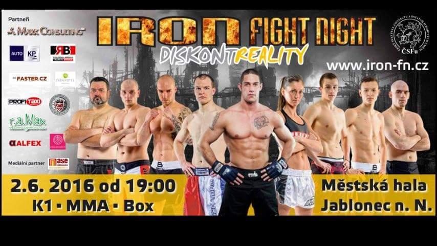 Iron Fight Night Jablonec nad Nisou