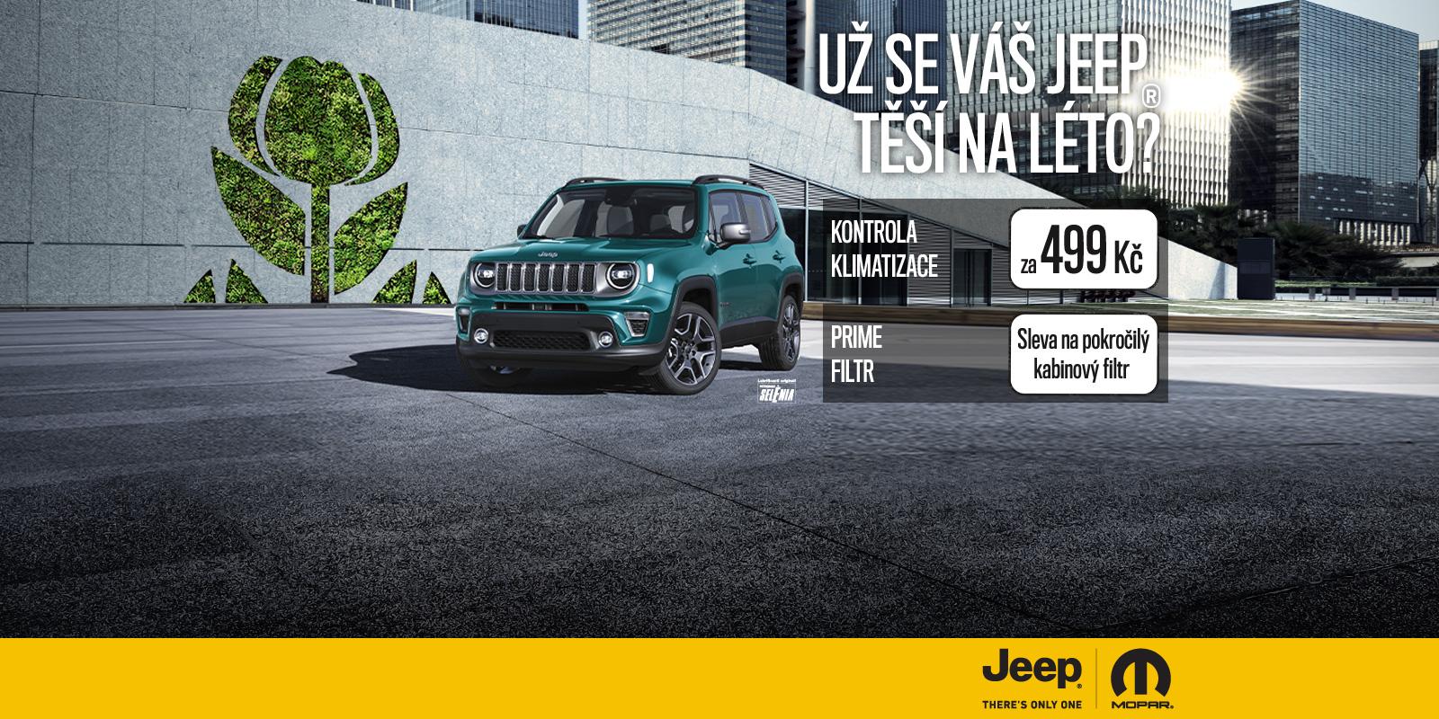 Jeep letní kampaň