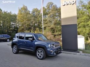 Jeep Renegade, 1,3T PHEV 190k 4XE Nová cena!