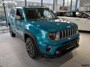 Jeep Renegade LIMITED 1,3GSE 180k 4x4 AT9