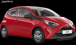 Toyota Aygo 1,0 BEST EDITION