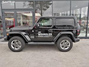 Jeep Wrangler 2.2D Sahara 8ATX