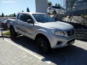 Nissan Navara Visia+Uzávěrka+Vyhřívání sedač