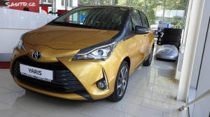 Toyota Yaris 1,5i First Edition Gold
